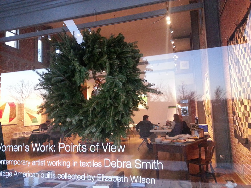 business retreat at the Volland Store