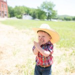 Little cowboy at The Volland Store