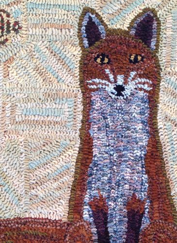 Getting Hooked:  The Rugs of Cecilia Evans Clement