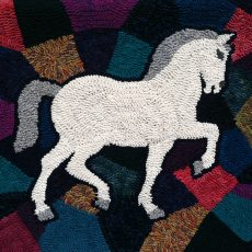 Getting Hooked:  Rugs by Cecilia Evans Clement