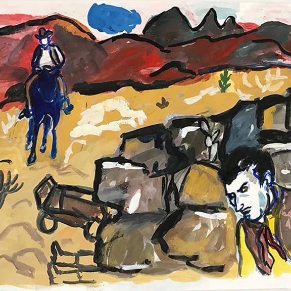 Linda Blackburn | Law of the Saddle (II)